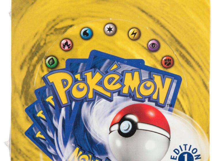Une boîte de cartes Pokémon vendue 300.000 euros aux enchères
