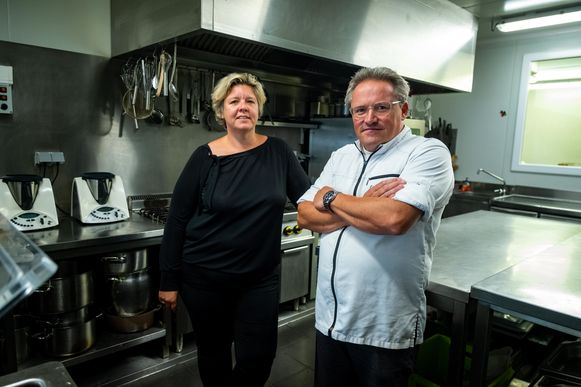 Ilse De Laere baat samen met Christophe Verschuere het cateringbedrijf Cook & Style uit.