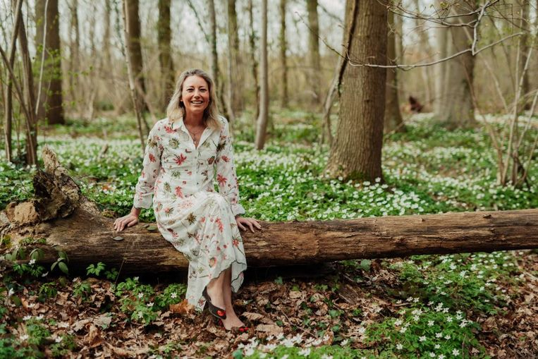 """Geraldine Huybrechts: """"Ik ben nu vijf jaar single, dus ik ben het al gewoon om alleen thuis te zijn"""""""