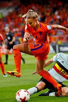 Jackie Groenen weer van grote waarde voor Oranje