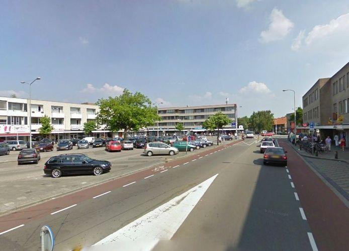 Het Franz Leharplein in Eindhoven. Beeld Google Streetview