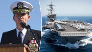 Commandant die noodklok luidde na corona-uitbraak op vliegdekschip op non-actief gezet