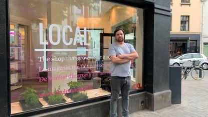 """""""Kiwi's uit Nieuw-Zeeland en avocado's uit Peru, dat trekt toch nergens op?"""": Uitbater Local teelt alle producten in zijn winkel zelf ter plaatse"""