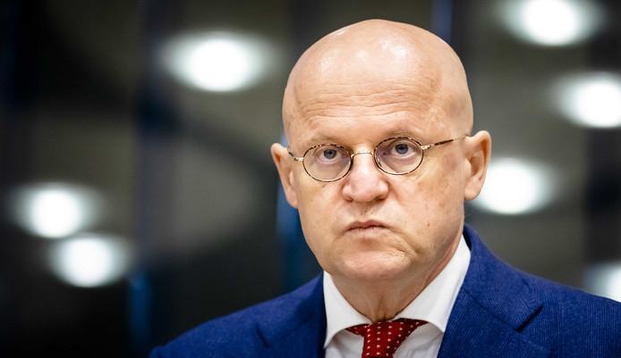 Minister Ferdinand Grapperhaus van Justitie en Veiligheid