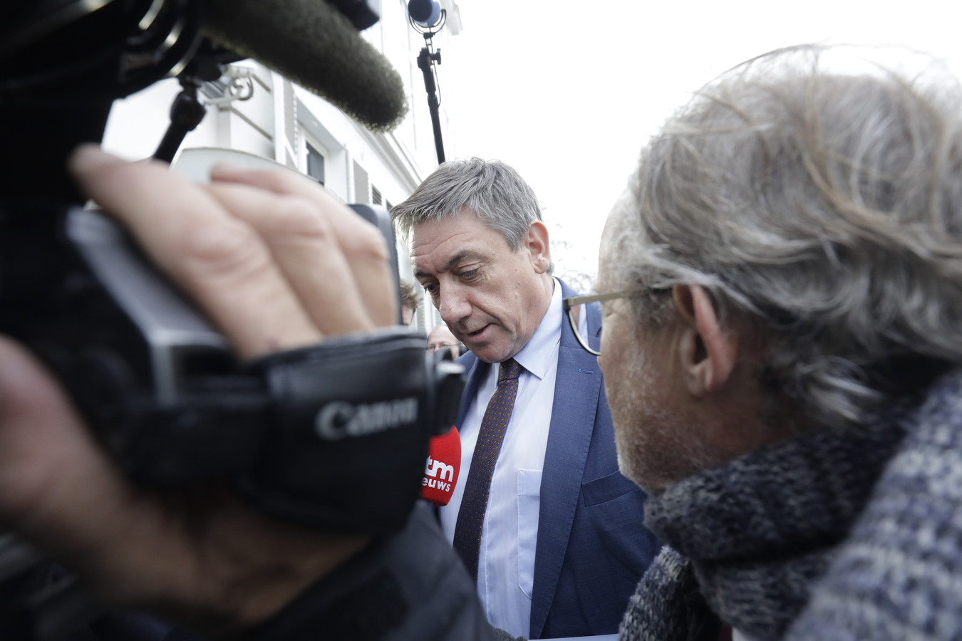 De Belgische vice-premier Jan Jambon (N-VA)