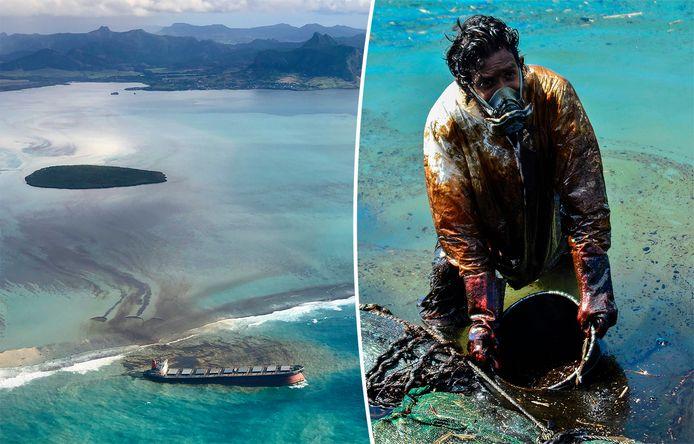Le cargo transportait un total de quelque 3.800 tonnes de pétrole.