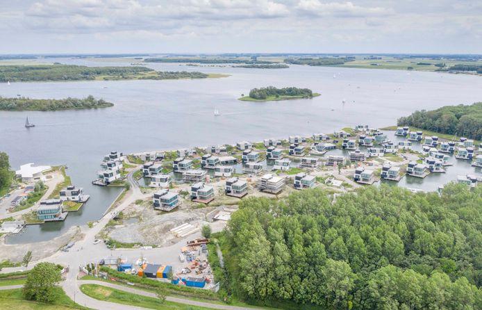 Harbour Village Het Zilveren Schor in aanbouw.