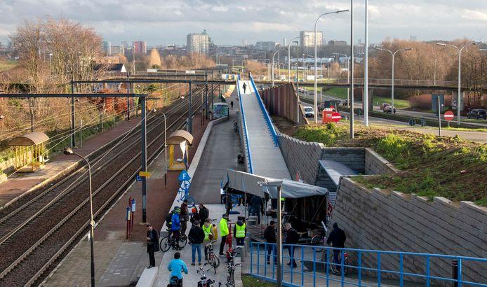 Een vierde van het budget ging naar de nieuwe fietssnelweg die Asse met Brussel verbindt.