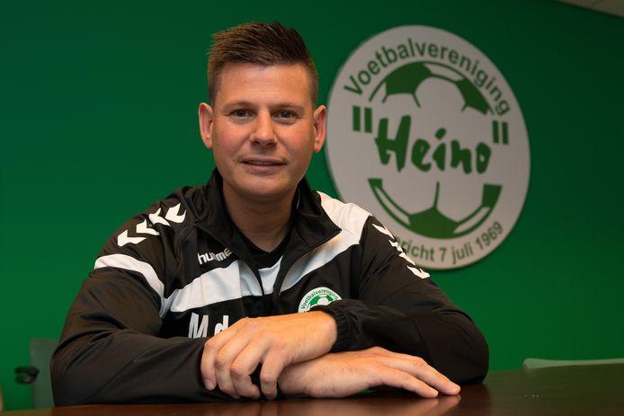 Heino hoofdtrainer Martijn de Vogel