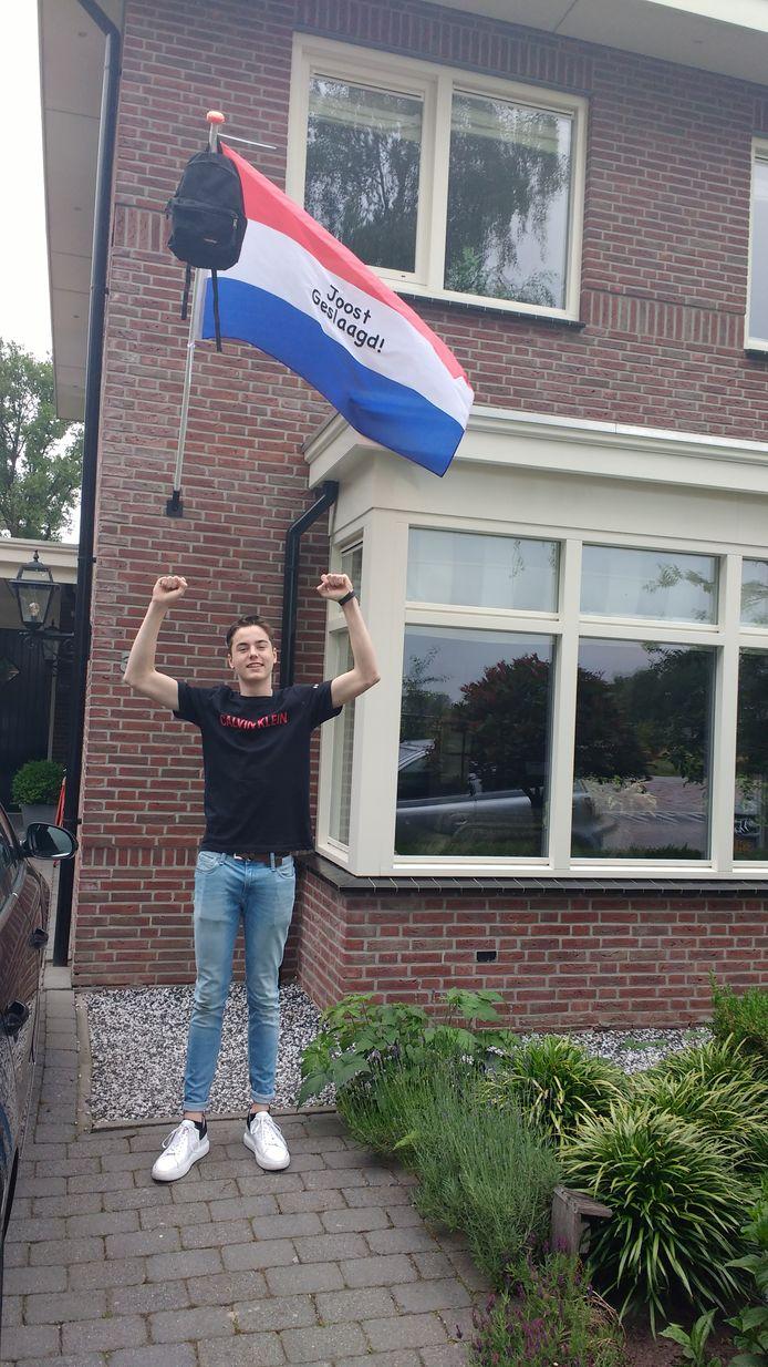 Joost zat op school op het Stork College in Hengelo