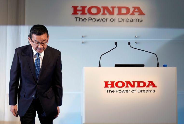 CEO van Honda, Takahiro Hachigo.