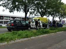 Gewonde bij mini-kettingbotsing in Elburg