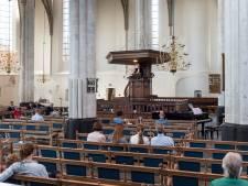 Eerste dienst in Sint Joriskerk sinds corona: 'Mooi om weer samen te zijn'