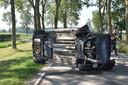 Op de Hogeweg in Nieuwaal heeft zondagochtend een eenzijdig ongeval plaatsgevonden.