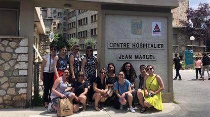 Verpleegkundestudenten bezoeken Tieltse zusterstad Brignoles