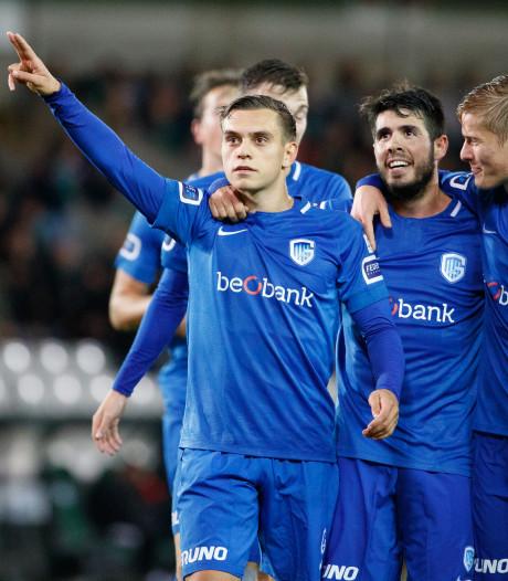 Genk blijft in het spoor van Club Brugge