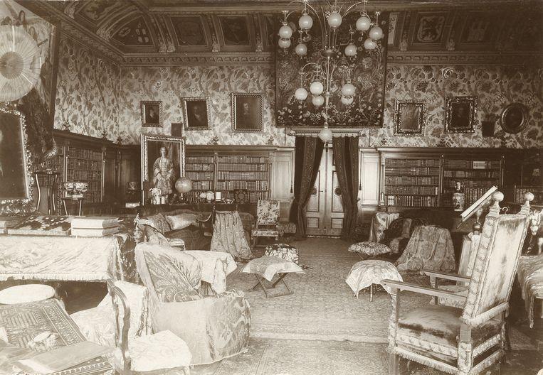 Salon Wahnfried, rond 1880. Beeld Richard-Wagner-Museum, Bayreuth