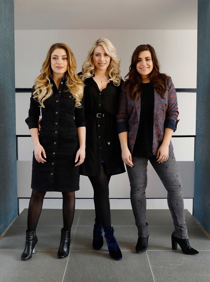 Amy, Lisa en Shelley