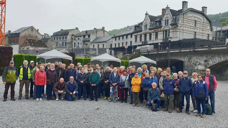 De groep 50-plussers uit Putte en Bonheiden
