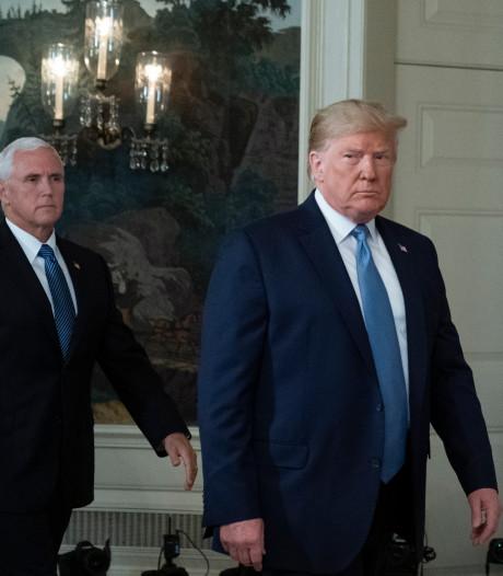 Trump: Mike Pence ook volgend jaar 'running mate'