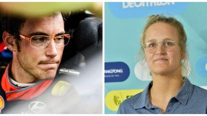 Thierry Neuville en Emma Plasschaert vallen net naast podium op Sportgala