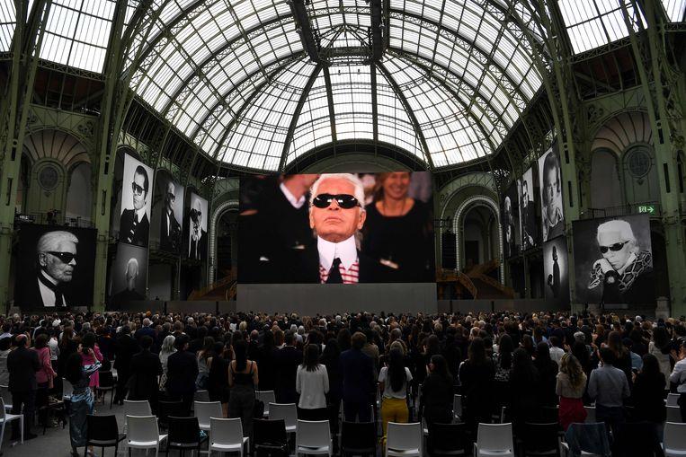 Het 'Karl For Ever'-event van Chanel.
