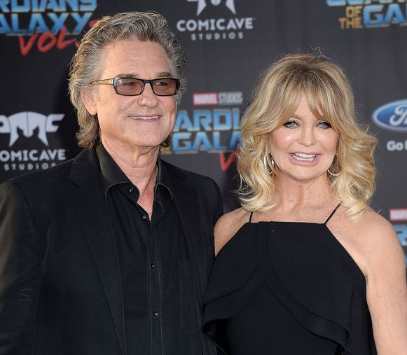 Kurt Russell en Goldie Hawn