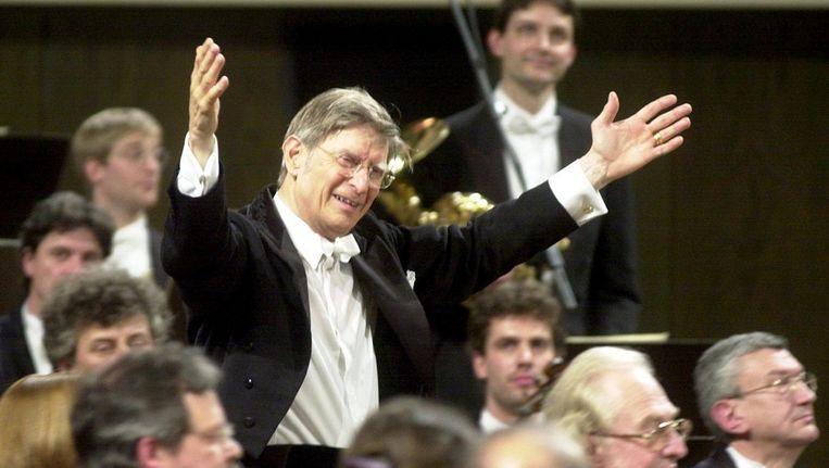 Dirigent Herbert Blomstedt. Beeld anp
