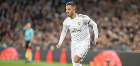 Hazard terug in wedstrijdselectie Real