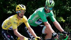 """Gele en groene trui strooien met lof naar Van Aert: """"Geen verrassing, hij was in Dauphiné al heel sterk"""""""