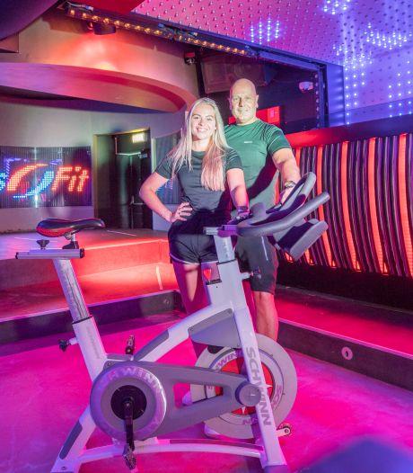 Slim bedacht: in deze disco waar normaal 700 man dansen, komt nu een sportschool