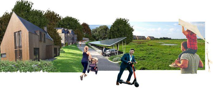 Een VVD-plan voor een nieuwe wijk in de weilanden net buiten de Maten met 2.500 woningen popt opnieuw op.