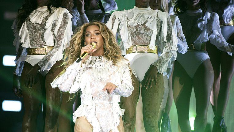 Optreden van Beyoncé op 16 mei in Santa Clara, Californië. Beeld AP