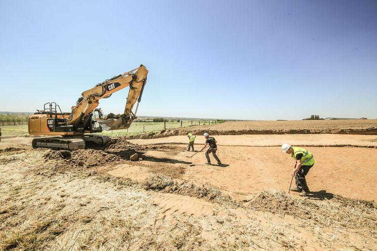 Archeologen deden opgravingen in Nieuwkerke, de resultaten daarvan zijn nu vrijdag te bezoeken.
