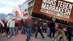 Raad van State beslist: 'Mars tegen Marrakesh' mag toch doorgaan
