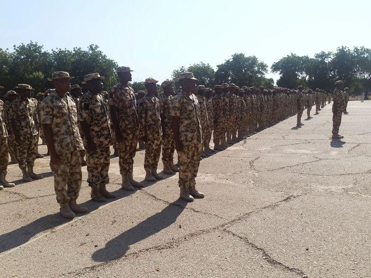 Soldaten in Maimalari, Nigeria.