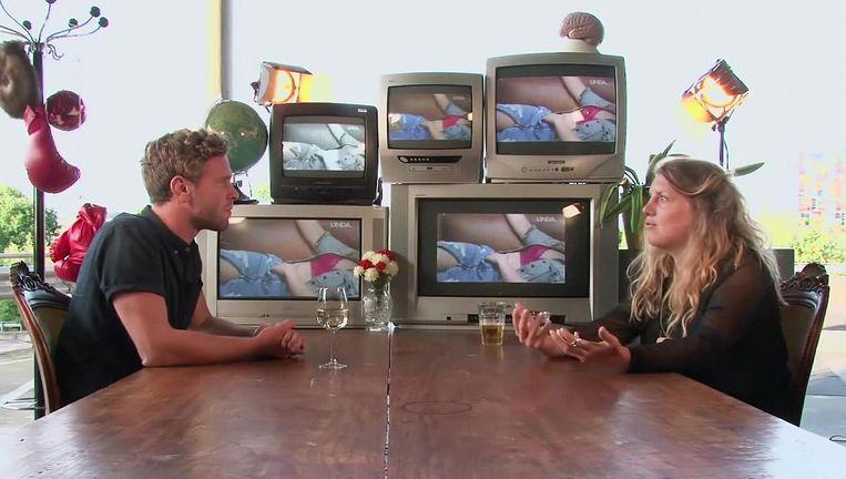 Zomergasten spin-off Zomergifjes, met Tim den Besten en Simone van Saarloos Beeld VPRO