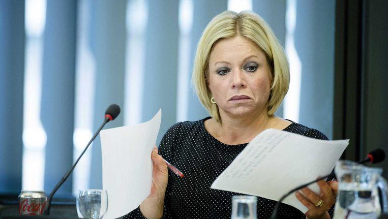 Minister Jeanine Hennis-Plasschaert (Defensie). Beeld anp