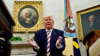 """Trump verdedigt handelsoorlog met China: """"Ik ben de uitverkorene"""""""
