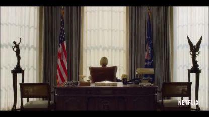 Het zesde (en laatste) seizoen van 'House of Cards' komt eraan en dit zijn de eerste beelden