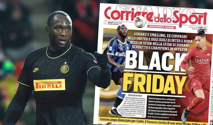 Corriere dello Sport sloeg de bal helemaal verkeerd met de cover.