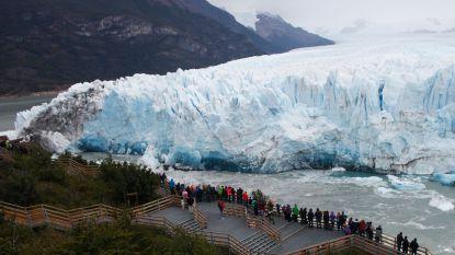 Spectaculaire beelden: beroemde Perito Morenogletsjer is aan het afbreken in Argentinië
