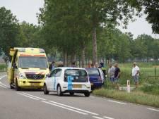 Wielrenner gewond na botsing met auto bij Puiflijk