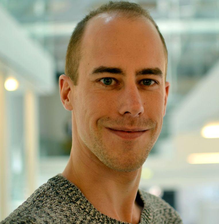 Adriejan van Veen doceert politieke geschiedenis aan universiteit Leiden en Utrecht. Beeld