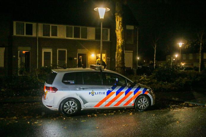 Woningoverval in Paulus Potterlaan in Helmond.
