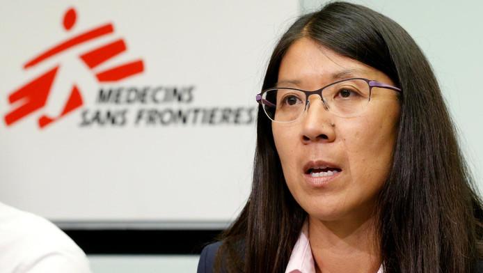 Joanne Liu, la présidente de MSF International.