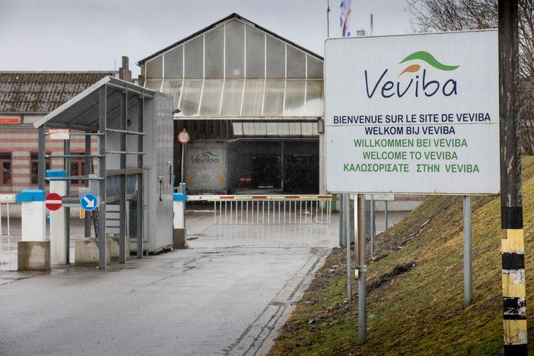 Het bedrijfsterrein van Veviba in Bastenaken.