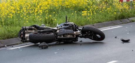 Motorrijder gewond na val in Tilburg