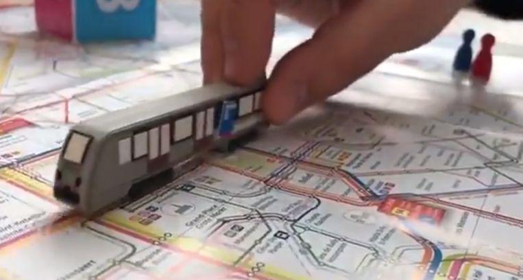 Vervoersmaatschappij STIB-MIVB maakt een een 'Game of Thrones'-parodie.