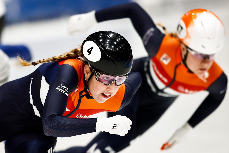 Lara van Ruijven (links). Beeld Hollandse Hoogte/ANP
